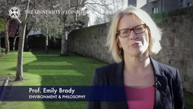 Thumbnail for entry Emily Brady - Enviornment & Philosophy- Research In A Nutshell - School of GeoSciences -17/04/2014
