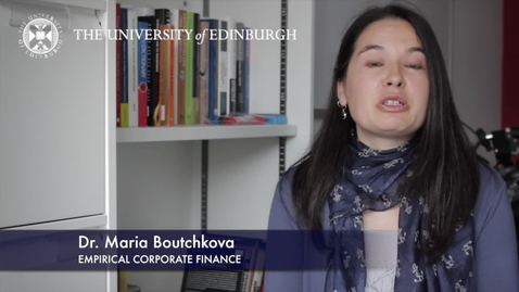 Thumbnail for entry Maria Boutchkova-Empirical Corporate Finance-Research In A Nutshell-Business School-31/08/2012