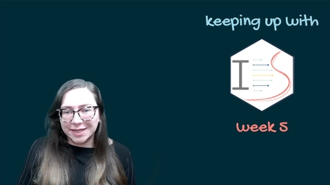 Thumbnail for entry IDS - Week 05 - 01 - Keeping up with IDS
