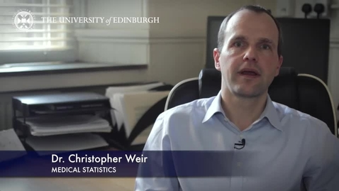 Thumbnail for entry Christopher Weir  -Medical Statistics-Research In A Nutshell- MRC Institute of Genetic and Molecular Medicine -16/06/2015