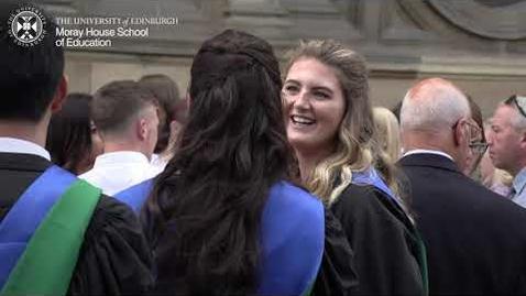 Thumbnail for entry Graduation - July 2018 Moray House School of Education