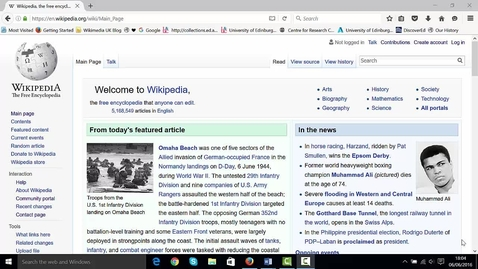 Thumbnail for entry Wikipedia editing in under 25 mins
