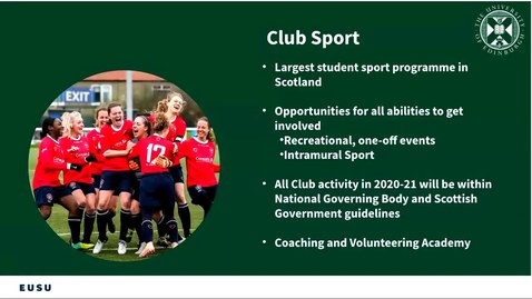 Thumbnail for entry PG How To get involved in Sports Clubs