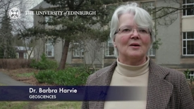 Thumbnail for entry Barbra Harvie - Geoscience- Research In A Nutshell - School of GeoSciences -06/03/2013