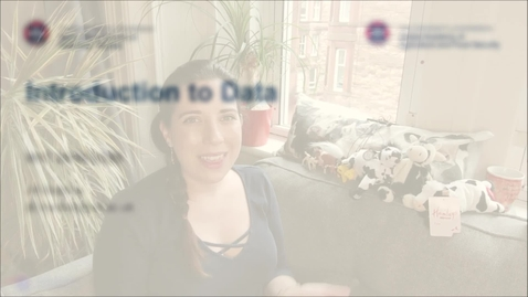 Thumbnail for entry Professional Skills for GAFS (1) - Week 2 -  Introduction to Data