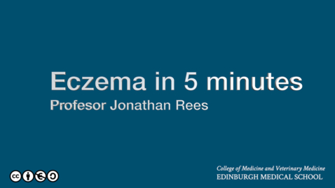 Thumbnail for entry Eczema in just a little bit longer than five minutes.