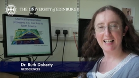 Thumbnail for entry Ruth Doherty - Geoscience- Research In A Nutshell - School of GeoSciences -21/08/2012