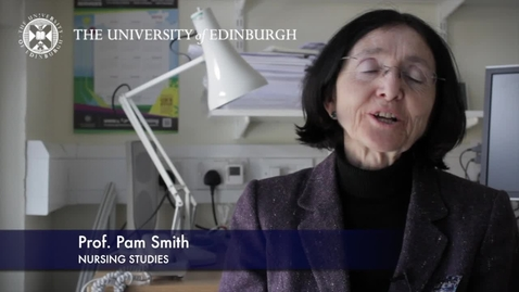 Thumbnail for entry Pam Smith -Nursing Studies - Research In A Nutshell- School of Health in Social Science-10/07/2012