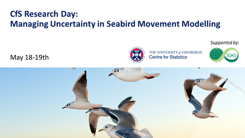 Thumbnail for entry Adam Butler and Esther Jones: Assessing Impacts of Offshore Renewables - Developing Spatial & Movement Models