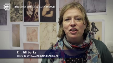 Thumbnail for entry Jill Burke - History of Italian Renaissance Art- Research In A Nutshell-Edinburgh College of Art-07/04/2014