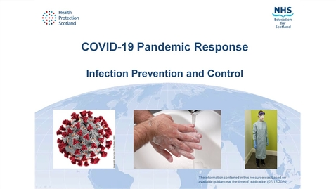 Thumbnail for entry COVID-19 Pandemic Response - Infection Prevention and Control