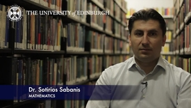 Thumbnail for entry Sotirios Sabanis- Mathematics- Research In A Nutshell - School of Mathematics -03/08/2012
