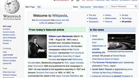 Thumbnail for entry Using Wikipedia for your learning