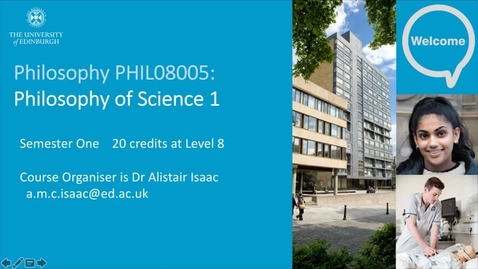 Thumbnail for entry Philosophy of Science 1 - introduction