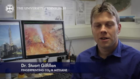 Thumbnail for entry Stuart Gilfillan - Fingerprinting CO2 & Methane- Research In A Nutshell - School of GeoSciences -17/04/2014