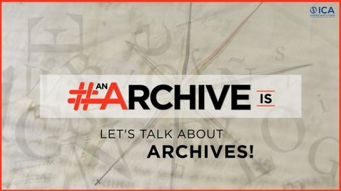 Thumbnail for entry Archives Chat: Archives and student research experience with Gary West #IAW2020
