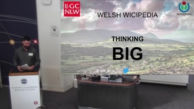 Thumbnail for entry Welsh Wikipedia Thinking Big - Keynote address by Jason Evans at the Celtic Knot 2017 conference