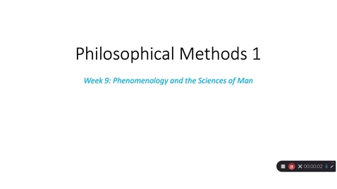 Thumbnail for entry Phil Methods 1 - Week 10 - Part 3