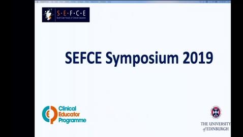 Thumbnail for entry SEFCE 2019 Intro & Awards - Slides