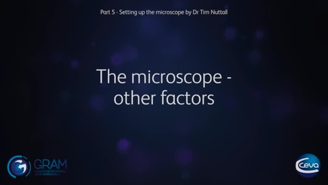 Thumbnail for entry 4 - Other factors when using microscopes
