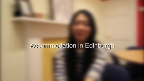 Thumbnail for entry Accommodation in Edinburgh