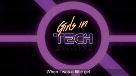 Thumbnail for entry Girls In Tech #IWD2017