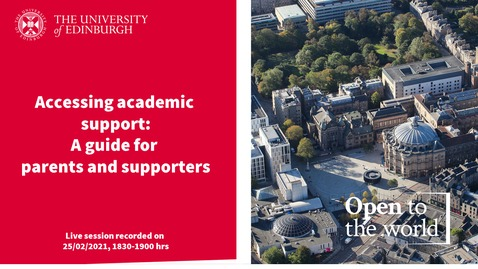 Thumbnail for entry Accessing Academic Development Support-1