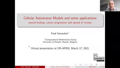 Thumbnail for entry UK-APASI in Mathematical Sciences: Fred Vermolen