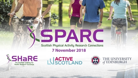Thumbnail for entry SPARC Conference 2018  | Professor Fiona Bull - Global Health Strategy