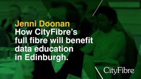 Thumbnail for entry Full fibre benefits in data education
