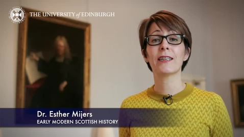 Thumbnail for entry Dr Esther Mijers -Early Modern Scottish History- Research in a Nutshell