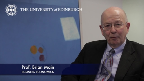 Thumbnail for entry Brian Main -Business Economics -Research In A Nutshell-Business School-28/01/2013