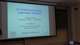 Thumbnail for entry Subtracting Infrared Singularities Beyond NLO - An analytic local sector subtraction at NNLO: Sandro Uccirati
