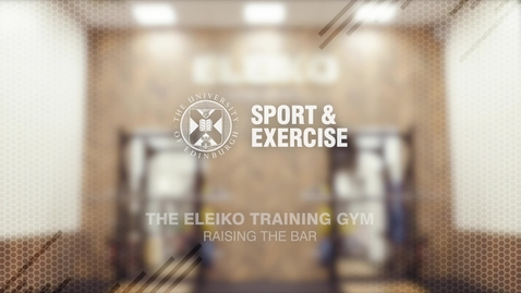 Thumbnail for entry Eleiko Training Gym