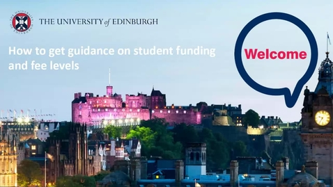 Thumbnail for entry (UG) How-to get guidance on student funding and fee levels