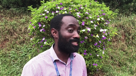 Thumbnail for entry Global Health and Infectious Diseases online masters: Benedict Okoe Quao - student testimonial