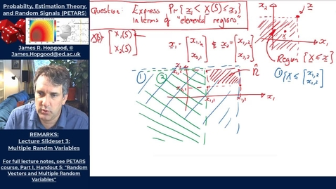 Thumbnail for entry Topic 27: Properties and examples of joint distributions and densities (PETARS, Chapter 5)