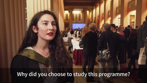 Thumbnail for entry Hear from our Reproductive Science Graduate