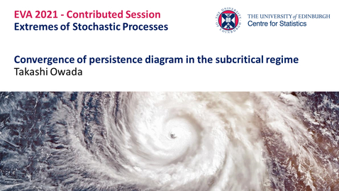 Thumbnail for entry Extremes of Stochastic Processes: Takashi Owada