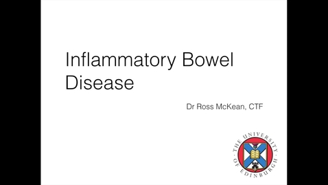 Thumbnail for entry Inflammatory bowel disease