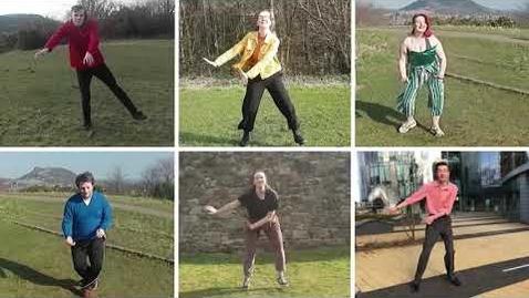 "Thumbnail for entry The UoE Dance Performance - Edinburgh University Swing Dance Society - ""Well Git It"""