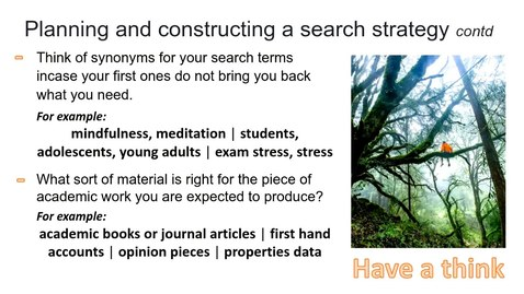 Thumbnail for entry PG How to find academic literature online