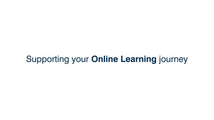 Supporting your online journey at the University of Edinburgh