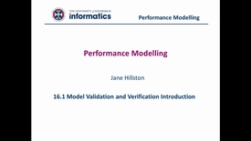 Thumbnail for entry 16.1 Model Validation and Verification Introduction
