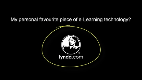 Thumbnail for entry My favourite e-learning technology