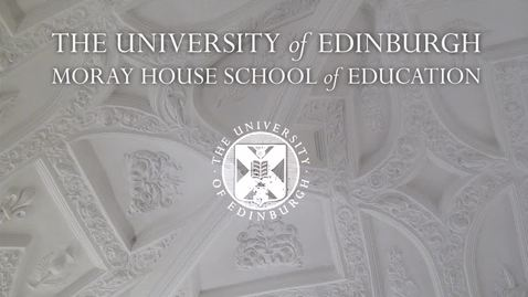"Thumbnail for entry Professor Judy Robertson  ""Data Education for All"" - Inaugural Lecture"