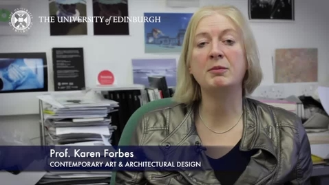 Thumbnail for entry Karen Forbes - Contemporary Art & Architectural Design -Research In A Nutshell-Edinburgh College of Art-07/04/2014