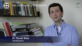 Thumbnail for entry Burak Buke- Mathematics- Research In A Nutshell - School of Mathematics -22/01/2013