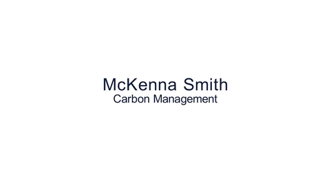 Thumbnail for entry Hear from our students: MSc Carbon Management