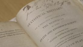 Thumbnail for entry Title page of The Statistical Breviary, by William Playfair (1801)